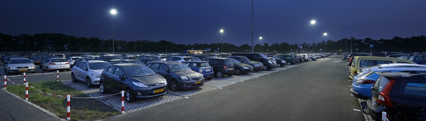 Parkeerterrein verlichting